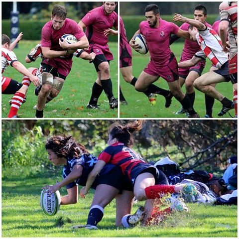 SFU Rugby Collage